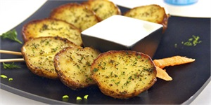 Hot Potato Halves (gluten free)