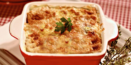 Lasagne With Turkey Meat And Mushrooms Vindija